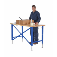 Vestil Manual Adjustable Ergonomic Work Benches